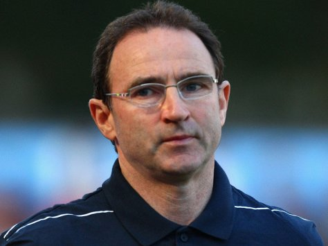 Ex Sunderland manager Martin O'Neil