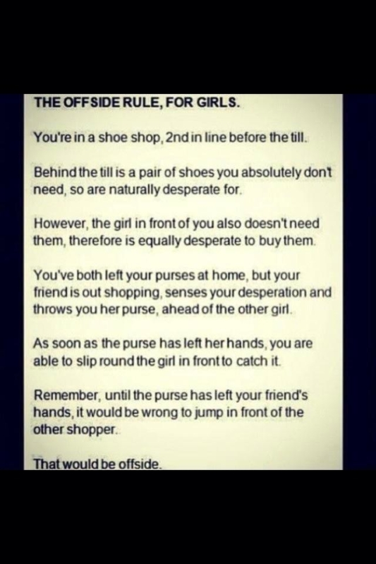 The Offside Rule Explained