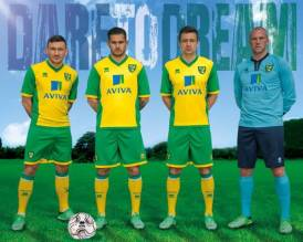 Norwich City Home Shirt