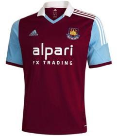 West Ham Home shirt