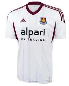 West Ham Away Shirt