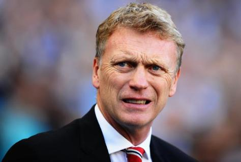 David Moyes looks on as Manchester Utd are outplayed