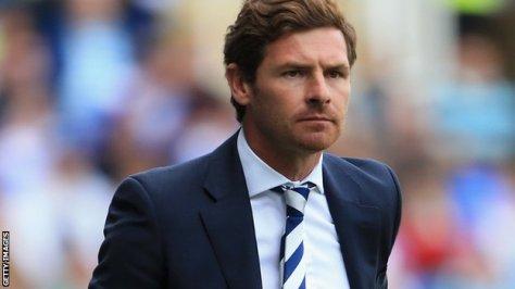 Tottenham Manager André Villas-Boas